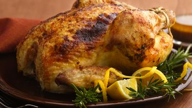 Rosemary-Lemon Roast Chicken