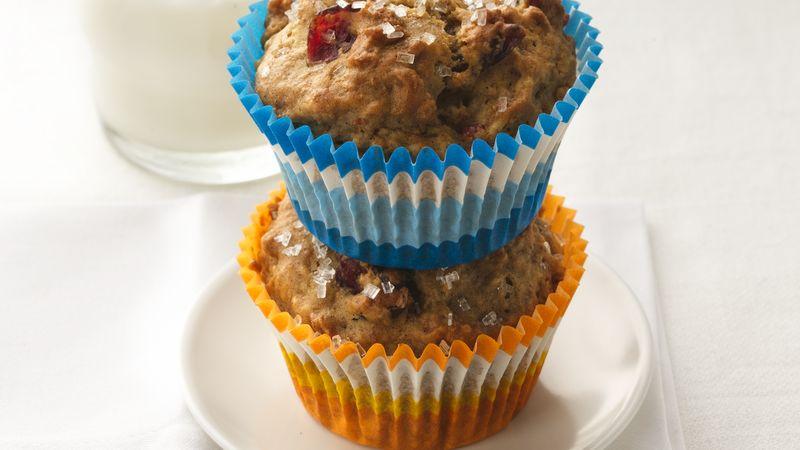 Cereal Apple-Cran Muffins
