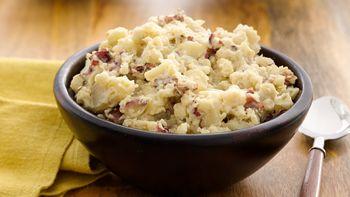Easy Slow-Cooker Garlic Mashed Potatoes