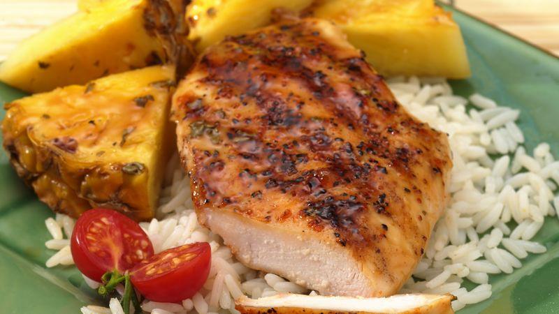 Grilled Pineapple Teriyaki Chicken