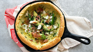 Herbed Dutch Baby Pancake