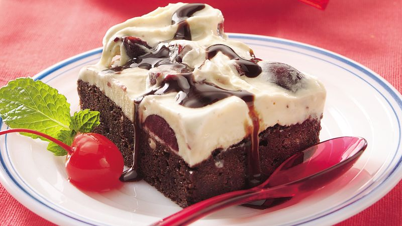 Frosty Fudgy Brownie Supreme