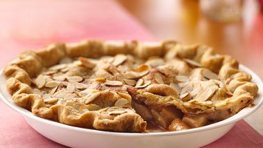 Almond-Pear Pie