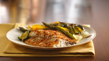 Roasted Tilapia and Vegetables