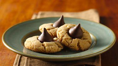 Gluten-Free Bisquick Peanut Butter Blossoms