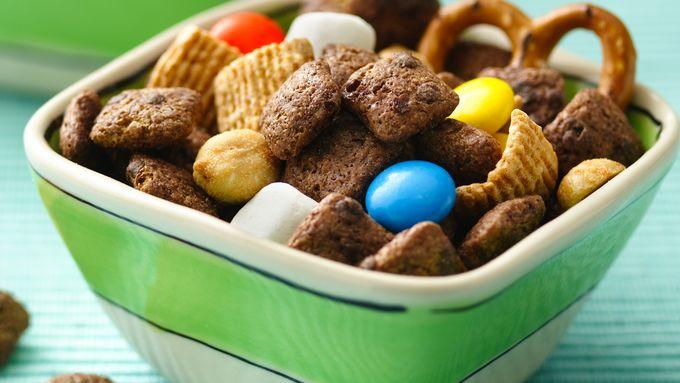Brownie Crunch Pretzel Trail Mix