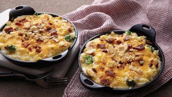 Bacon-Broccoli Mac and Cheese