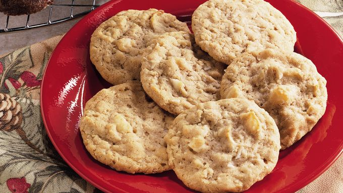 Chewy Coconut-Macadamia Nut Cookies