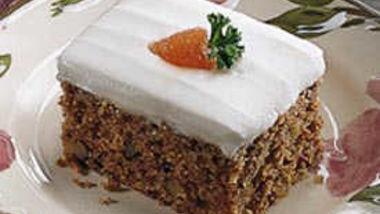 Carrot Cake (lighter recipe)