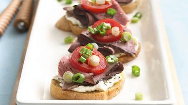 Roast Beef Bruschetta