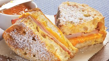 Ham and Cheese French Toast