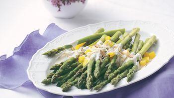 Almond-Parmesan Asparagus