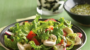 Shivery Salad with Herbed Vinaigrette