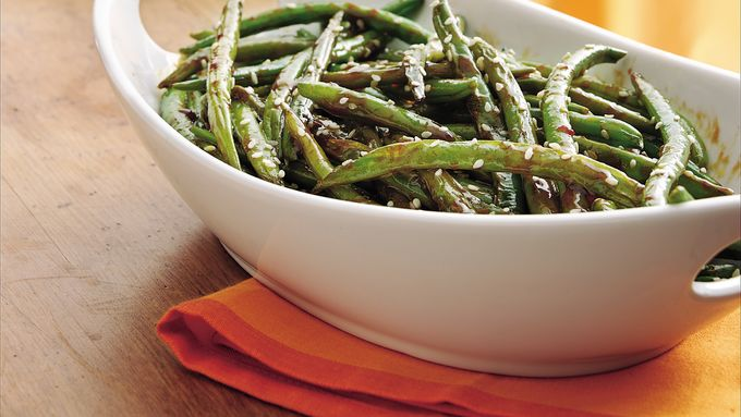 Spicy Stir-Fried Green Beans