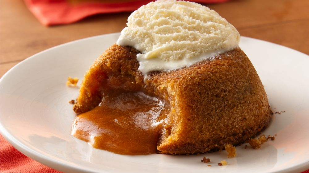 Molten Buttered Rum Cakes