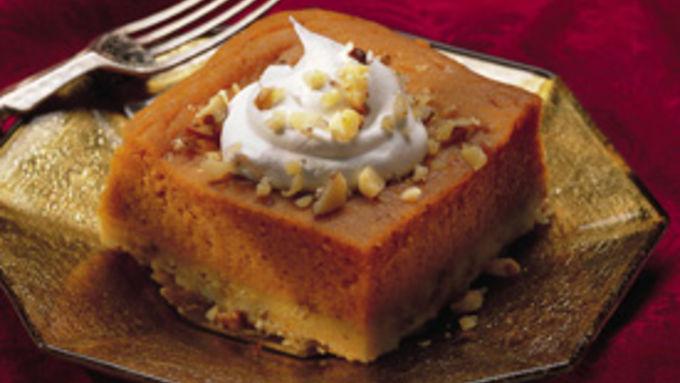 Luscious Lemon-Pumpkin Dessert