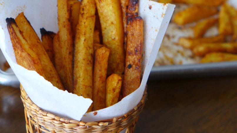 Baked Rutabaga Fries