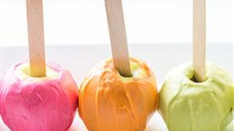 Neon Colored Apples