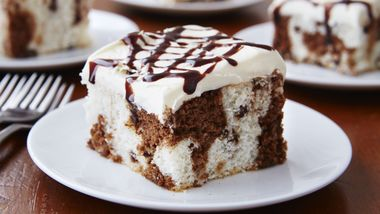 Chocolate Chip Marble Cake
