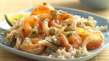Key Lime Shrimp Red Curry