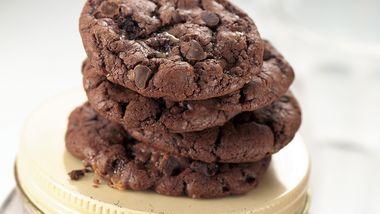 Mocha-Toffee Chocolate Cookies