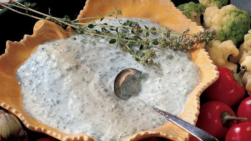 Green Herb Dip