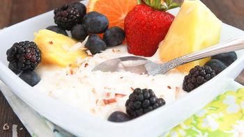 Piña Colada Fruit Dip