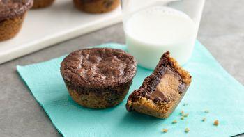 Mini Peanut Butter Brownie Bites