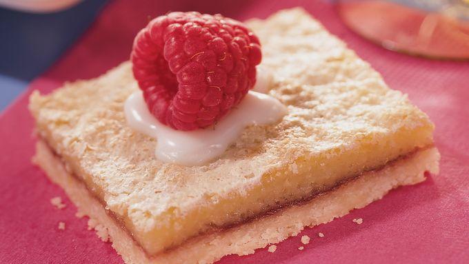 Lemon-Raspberry Bars recipe - from Tablespoon!