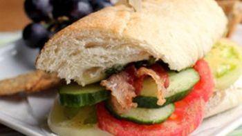Summer Garden Sandwich