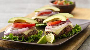 Monterey Skillet Hamburgers