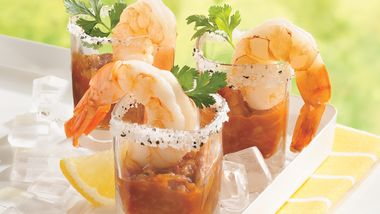 Margarita Shot-Glass Shrimp