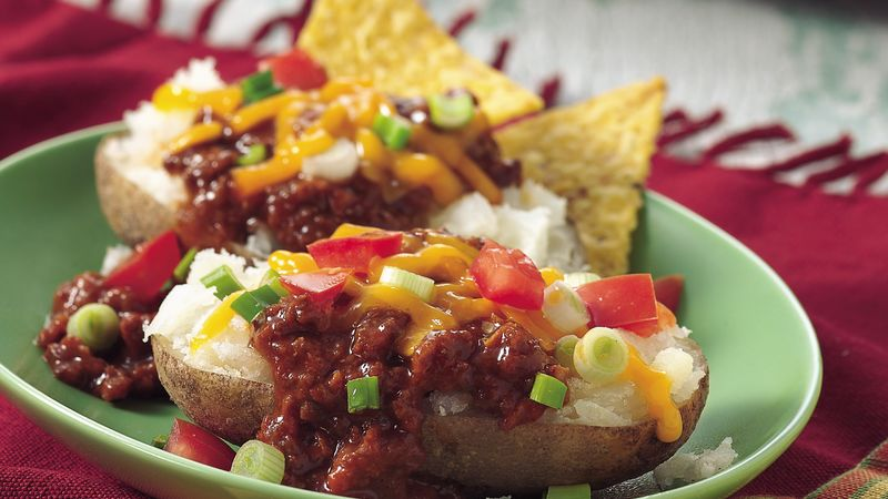 Taco-Topped Potatoes
