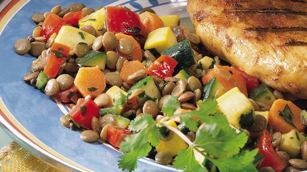 Indian Lentil Salad