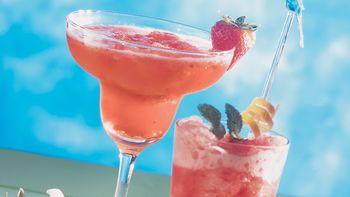 Strawberry Margarita Slush