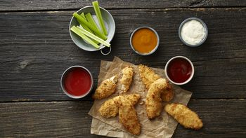 Oven-Fried Chicken Tenders