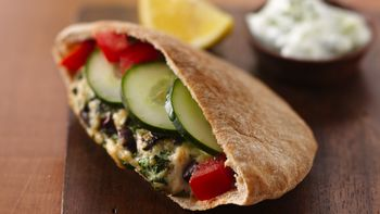 Greek Chicken Burgers with Tzatziki Sauce