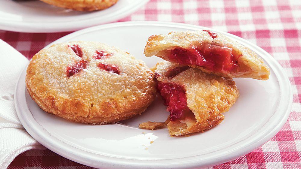 Strawberry Rhubarb Mini Hand Pies