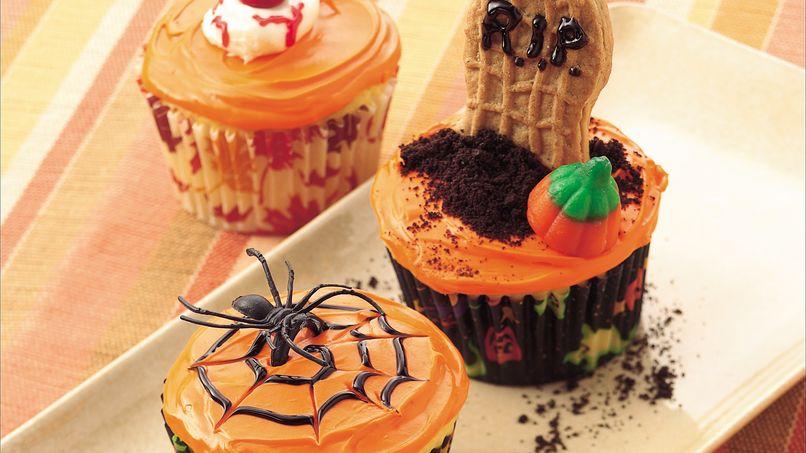 Panquecitos de Halloween