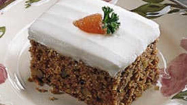 Chocolate ginger carrot cake recipe