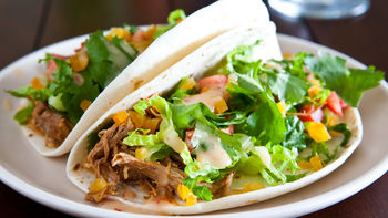 Slow-Cooker Apricot Chicken Tacos