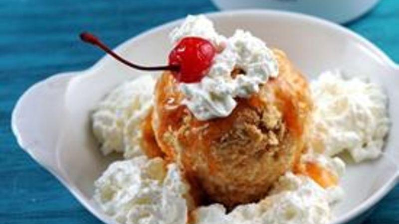 "Cinnamon Toast Crunch™ ""Fried"" Ice Cream"