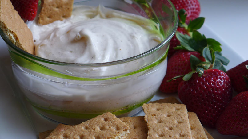 Marshmallow Cream Cheese Dip