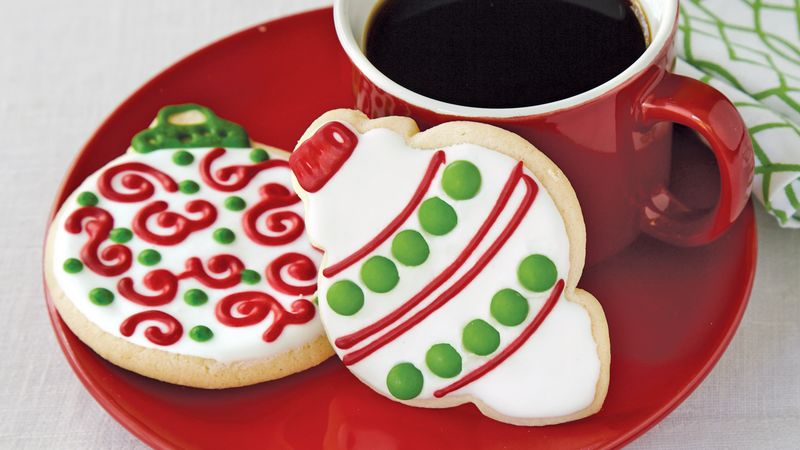 Iced Ornament Sugar Cookies