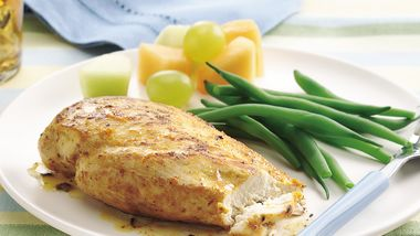 Orange Zested Chicken Breasts