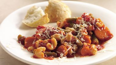 Slow-Cooker Mediterranean Minestrone Casserole