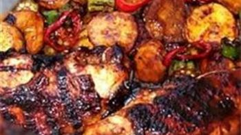 Oven Baked Pesto Chicken