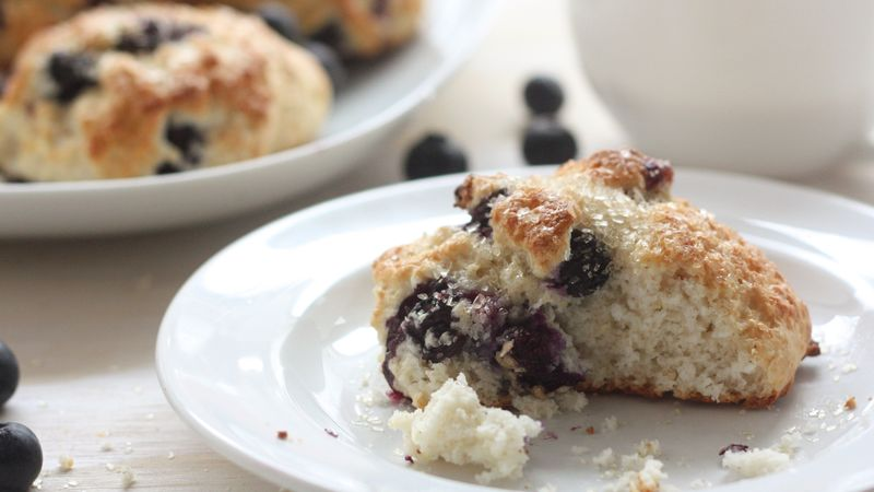 Loaded Blueberry Biscuits