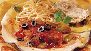 Saucy Italian Steak