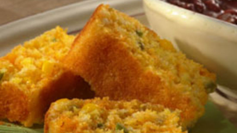 Green Chile Cornbread